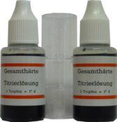 Doppelpackung Titrierlösung mit Behälter - Wasserhärtetest