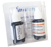 FILTRASOFT Wasserhärte Testset 2x 15 ml mit Behälter - Produktfoto